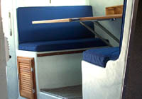 Optional Sleeper Dinette