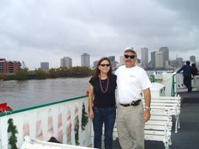 Don and Linda in New Orleans