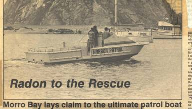 Morro Bay Rescue Boat