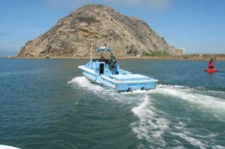 Morro Bay Rescue Boat Today