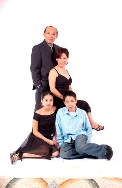 Tom Chung and Family
