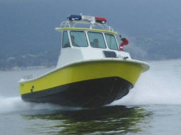 Los Angeles County Lifeguard/ Fire boat