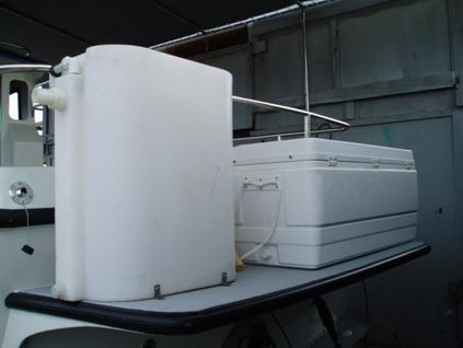 Bait Tank & Ice Chest