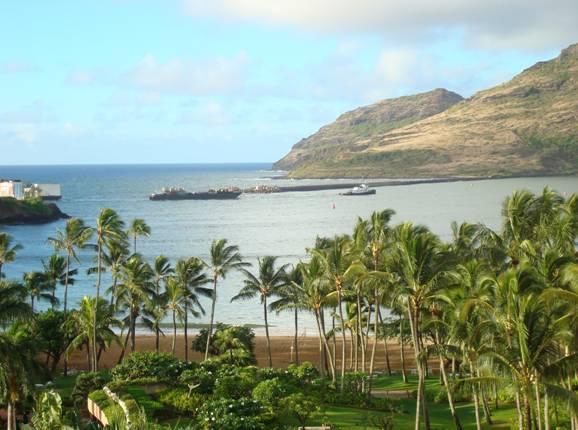 Nawiliwili harbor in Lihue, Kauai