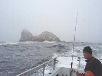 Joe at the Farallon Islands