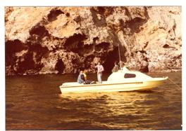 1979 – Spike and Rudy's 24' Radon off of Santa Cruz Island