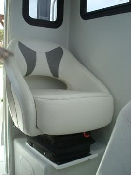 Passenger seat with suspension base