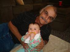 Don and granddaughter Paige