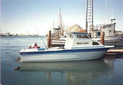 "Custom 25' x 8'6"" we built in 1990 for Conrad Ringer of Hawaii"