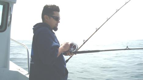 Manolito fishing