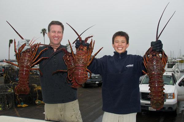 Lance Merker and son Kyle