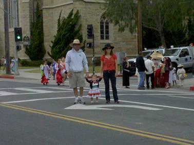 P.J.'s Fiesta parade!