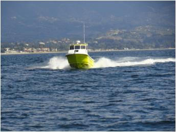 Radon 26' Maui Fire/Rescue boat