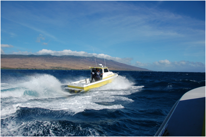 The Maui Fire Department's new Radon 26'