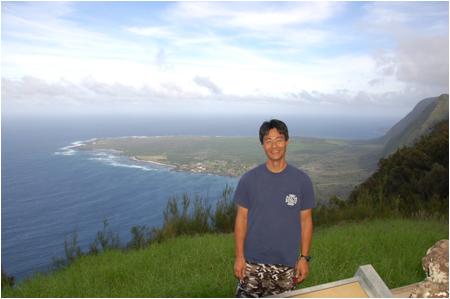 Maui Fire Dept Capt. Eddie Taomoto