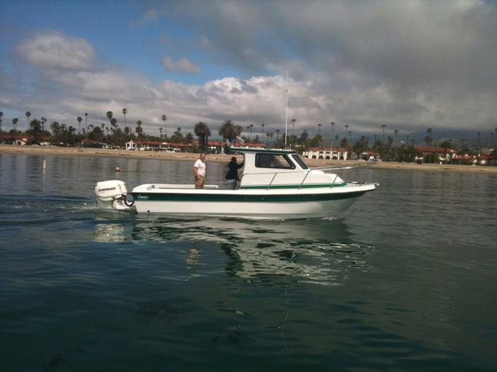 First Sea Trial